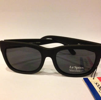 Le Specs Captain Courageous Matt Black Sunglasses