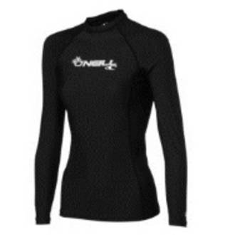 O'Neill Womens basic skins long sleeve crew Med & Large