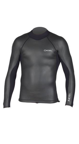 Xcel 2/1 Smoothskin Back zip Top