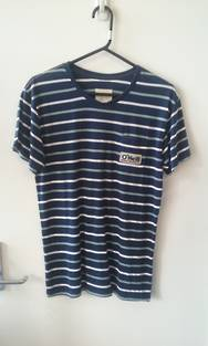 O'neill Originals Striped T-shirt Navy