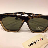 Le Specs New Wave Tort Sunglasses