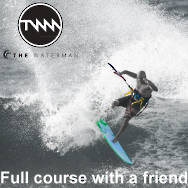 KITESURFING FULL COURSE + 2HR LESSON WITH A FRIEND. GREAT VALUE!!