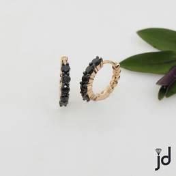 Little Black Earrings