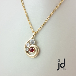 ruby necklace nz