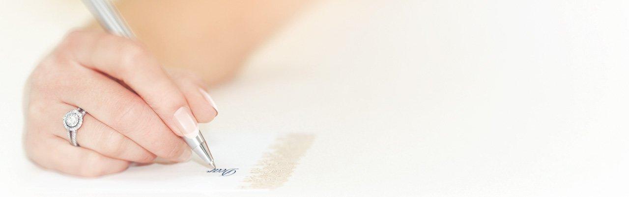 wedding rings testimonial by Jewel