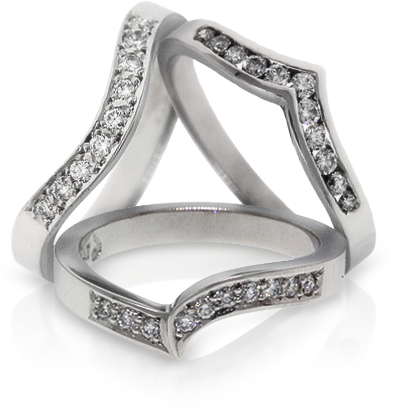 neutral wedding rings auckland