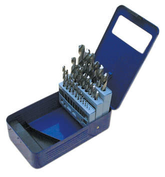 FRAGRAM 29pce SAE HSS DRILL BIT SET 1/16-1/2