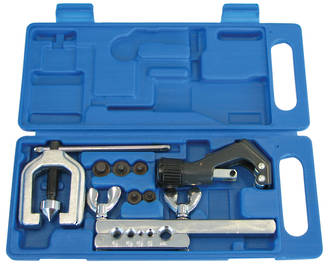 DOUBLE FLARING & TUBE CUTTER KIT PROFESSIONAL