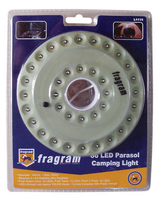 36LED PARASOL CAMP LIGHT