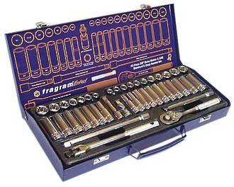 SOCKET SET 3/8 42 PCE STD & DEEP