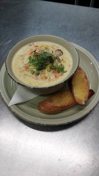 Seafood and Vegetable Chowder