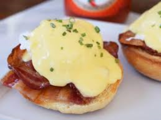 Eggs Bene with Bacon