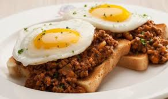 Mince on Toast
