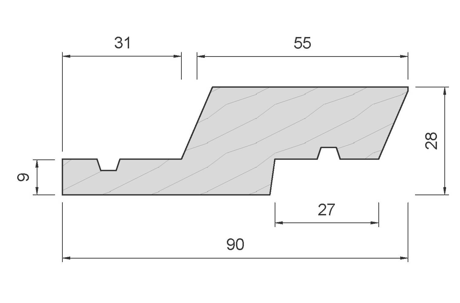 APJ214 Rusticated Weatherboard