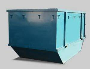 12m cubic rubbish bin