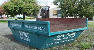 4.5m cubic hardfill skip