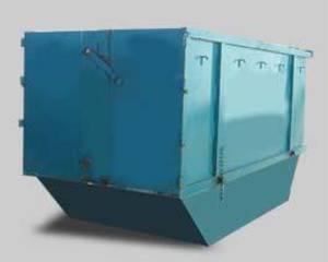 9m cubic rubbish bin