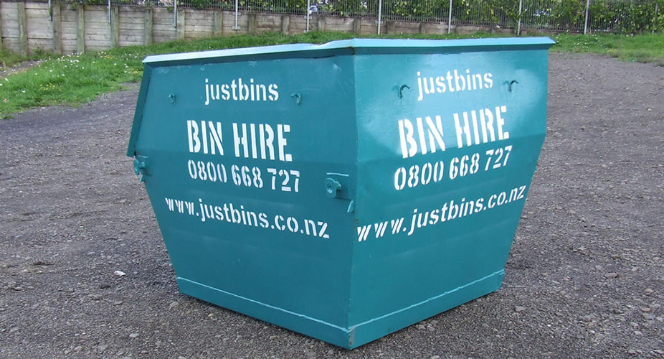 3m³ Skip Bins Auckland
