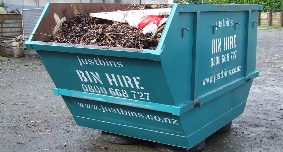 6m³ auckland rubbish bin