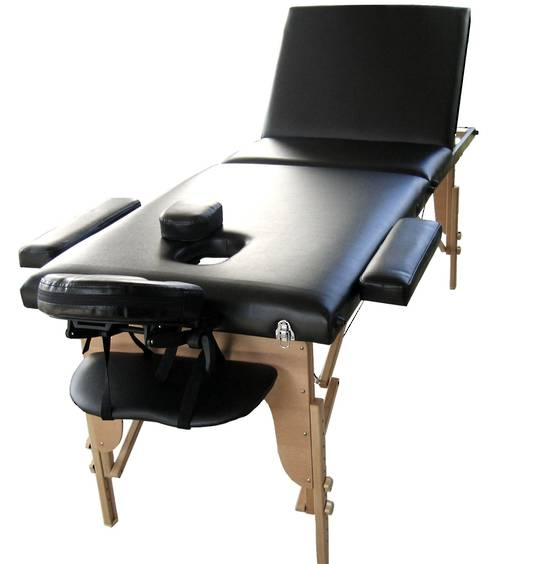 Wooden Beauty Therapy Table: JTWB3