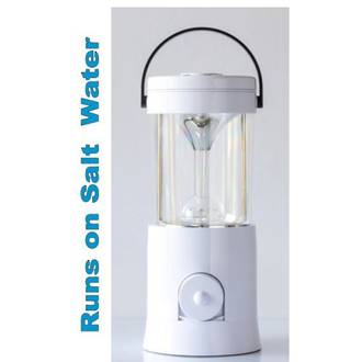 aqua salt lamp