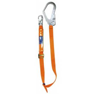 Spanset 1.8m Adjustable Web Lanyard c/w Scaff Hk