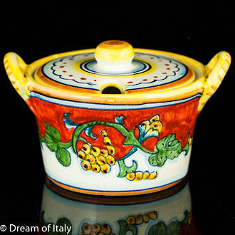 Sugar Bowl or Parmesan Bowl - Corallo Design