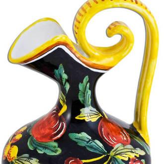 Italian Ceramic Zafiro Amphora Jug