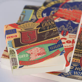 Italian Stationery Notebook - Travel