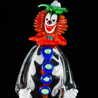 Murano Glass Clown 11