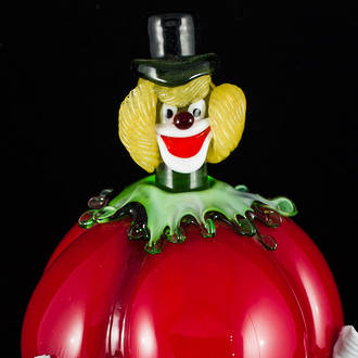 Murano Glass Clown 25