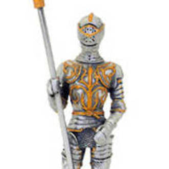 Pewter Warrior with Lance