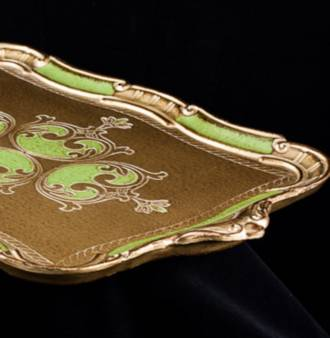 Large Florentine Serving Tray with Handles (Med/Large)