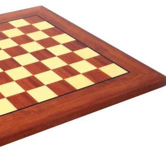 Bubinga (African Rosewood) Chess Board