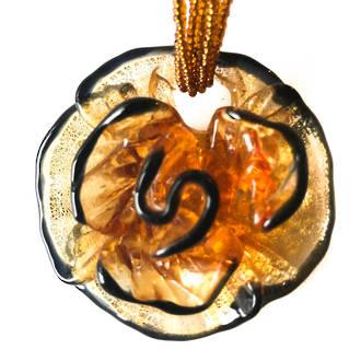 Murano Glass Pendant Flower 1