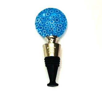 Murano Glass Millefiori Bottle Stopper 4