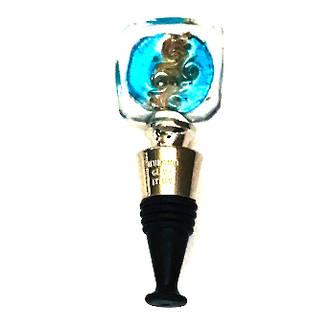 Murano Glass Aventurine Bottle Stopper 2
