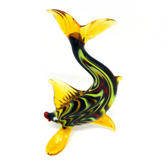 Murano Glass Ornament - Fish 2