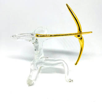 Murano Glass Ornament Archer/Sagittarius