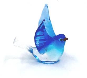 Murano Glass Ornament - Bird 5
