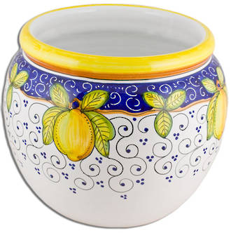 Hand-Painted Ceramics Dafne Cache Pot