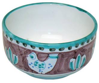 Italian Ceramics - Cereal Bowl Gallinelle Red