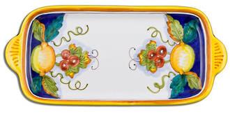 Hand-Painted Ceramics Alcantara Small Tray/Dish