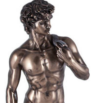 Statuette of 'David' by Michelangelo