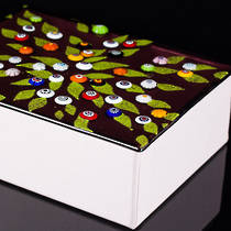 Murano glass box - large