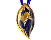 Murano Glass Pendant Foglia A 1