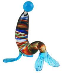 Murano Glass Ornament Seal 1