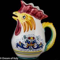 Rooster Jug (Small) - Ricco Deruta