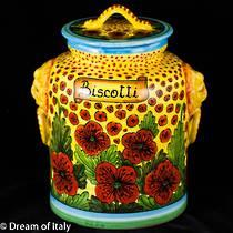 Biscotti Jar Papaveri 2