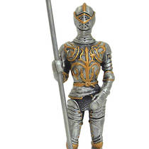Pewter Medieval Warrior